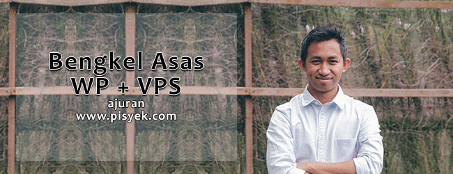 bengkel asas wordpress vps